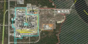 Invista 158 acres inside fence line close up